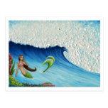 Hawaiian Paradise Mermaid Postcards