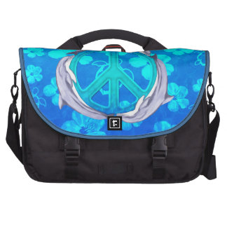 Hawaiian Peace Dolphins Bags For Laptop