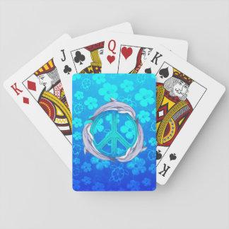 Hawaiian Peace Dolphins Card Deck