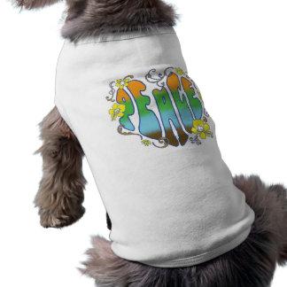 Hawaiian Peace Heart Pet Tee