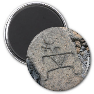 Hawaiian Petroglyph - Magnet