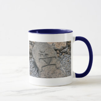 Hawaiian Petroglyph - Mug