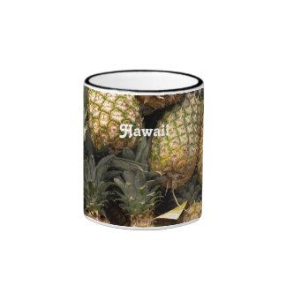 Hawaiian Pineapple Coffee Mugs