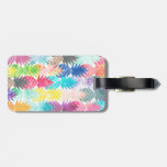 Hawaiian Pineapple Pattern Tropical Watercolor Tags For Bags