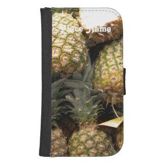 Hawaiian Pineapple Galaxy S4 Wallet