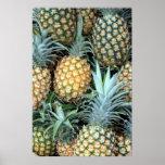 Hawaiian Pineapples Poster