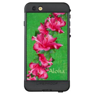 Hawaiian Pink Hibiscus Lei Aloha LifeProof NÜÜD iPhone 6s Plus Case