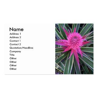 Hawaiian Pink Pineapple Business Card Templates