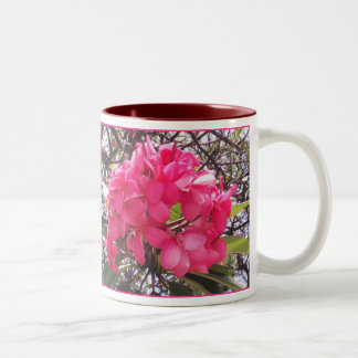 Hawaiian Pink Plumeria Coffee Mug