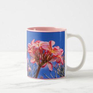 Hawaiian Plumeria Mugs