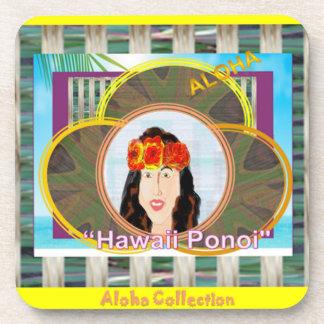 Hawaiian Ponoi Coasters (square)