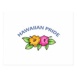 Hawaiian Pride Post Card