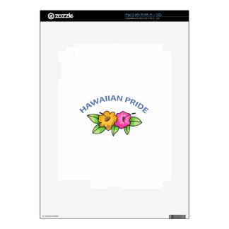 Hawaiian Pride Decals For iPad 2