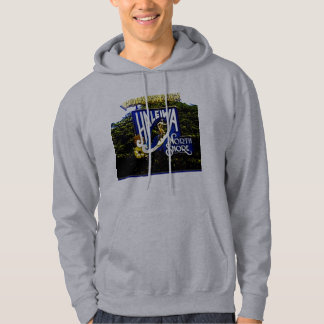 Hawaiian Print Sweat Shirt