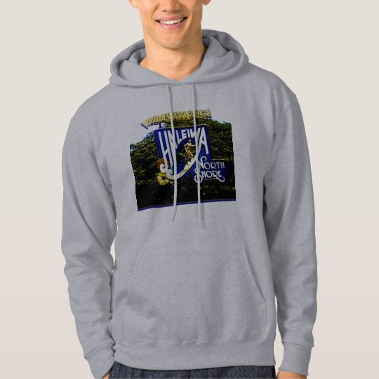 Hawaiian Print Sweat Shirt