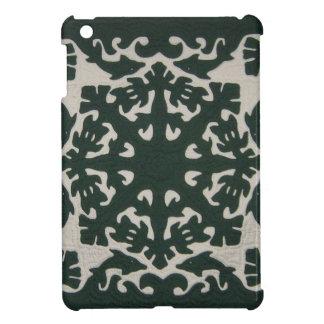 Hawaiian Quilt Green Case For The iPad Mini