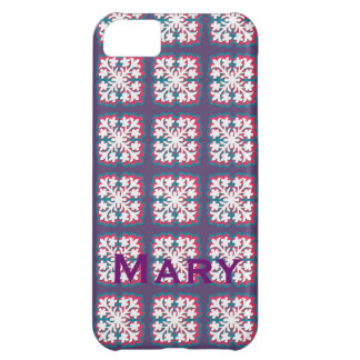 Hawaiian Quilt Pattern Electronics Case iPhone 5C Covers