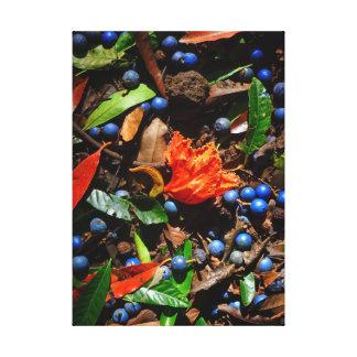 Hawaiian Rain Forest Floor Canvas Print