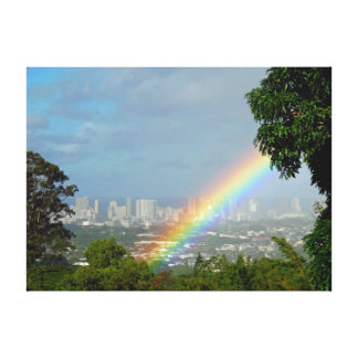 Hawaiian Rainbow Canvas Print