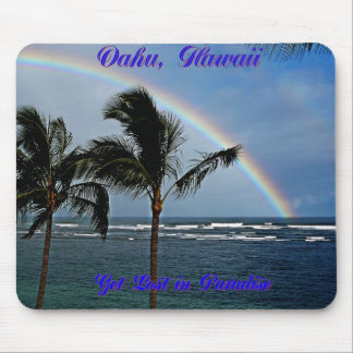 Hawaiian Rainbow Collection - Customized Mouse Pad