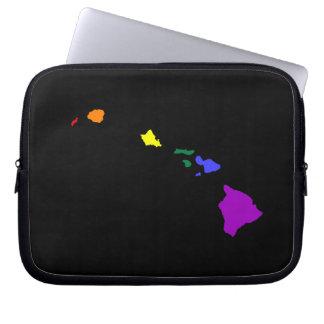 Hawaiian Rainbow Laptop Computer Sleeve