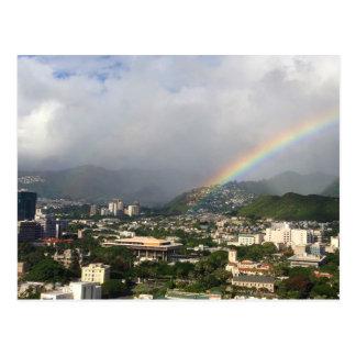 Hawaiian Rainbow Postcard