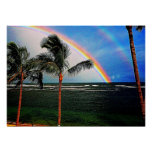 Hawaiian Rainbow Poster