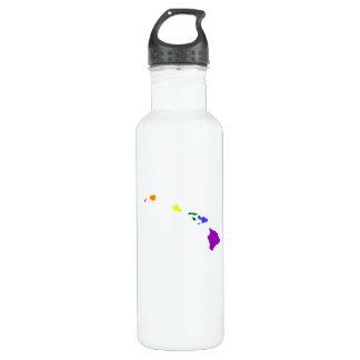 Hawaiian Rainbow Water Bottle