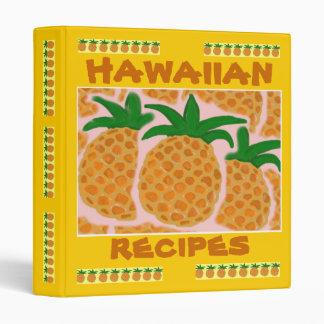 Hawaiian Recipes Binder
