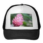 Hawaiian Red Ginger Flower Trucker Hat