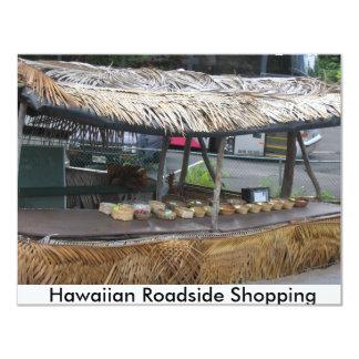 Hawaiian Roadside Shop 4.25x5.5 Paper Invitation Card