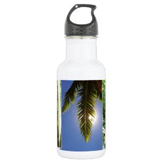 Hawaiian Scenes Stainless Steel Water Bottle