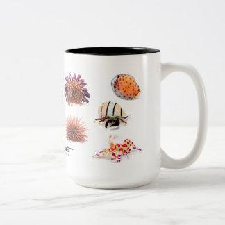 Hawaiian Sea Creatures II, Special Edition Two-Tone Coffee Mug