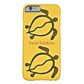 Hawaiian Sea Turtle Golden Honu Barely There iPhone 6 Case
