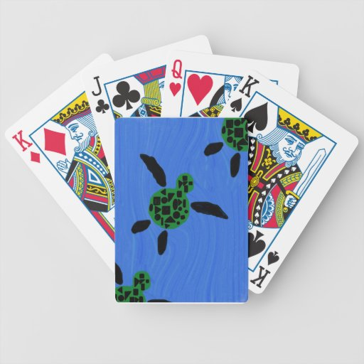 Hawaiian Sea Turtle Playing Cards