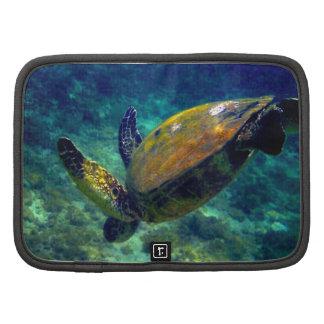 Hawaiian Sea Turtle Rickshaw folio Organizer