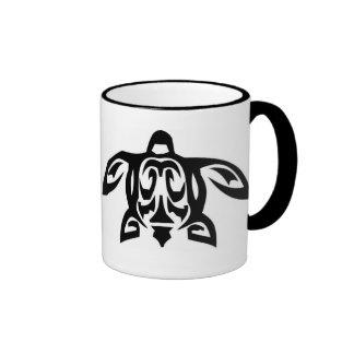 Hawaiian Sea turtle Ringer Coffee Mug