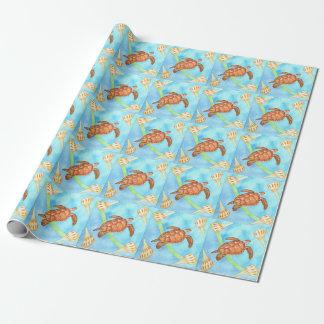 Hawaiian Sea Turtle Wrapping Paper