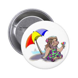hAwAiiAn ShAvE IcE Pinback Button