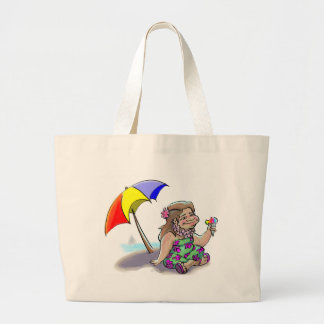 hAwAiiAn ShAvE IcE Large Tote Bag