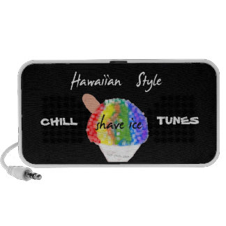 HAWAIIAN SHAVE ICE PORTABLE LAPTOP SPEAKER