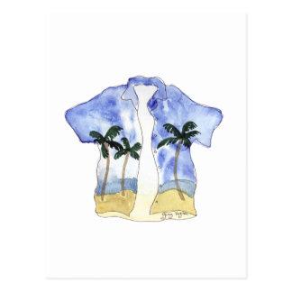 Hawaiian Shirt 1 Postcard