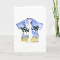 Hawaiian Shirt Cards
