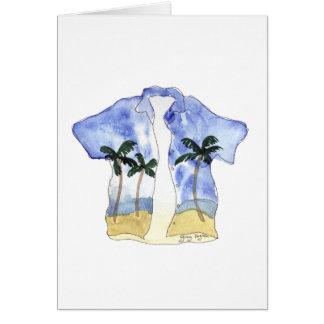 Hawaiian Shirt Cards