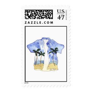 Hawaiian Shirt Custom Postage