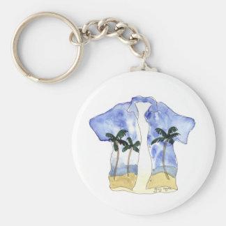 Hawaiian Shirt Keychain