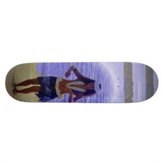 Hawaiian skateboard