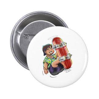 hAwAiiAn sKaTeBoArDeR 2 Inch Round Button