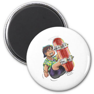 hAwAiiAn sKaTeBoArDeR 2 Inch Round Magnet