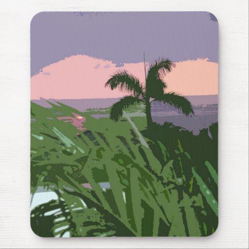 Hawaiian Skies with Palm Mousepad